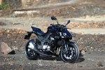 Czarne Kawasaki Z1000 MY 2014