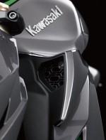 Kawasaki Z1000 2014 wlot powietrza