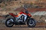 Pomaranczowe Kawasaki Z1000 MY 2014