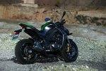 Zielone Kawasaki Z1000 MY 2014