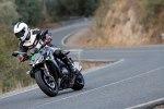 Zmiana kierunku Kawasaki Z1000 2014