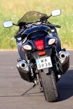 tyl motocykla Suzuki Hayabausa