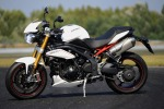 Lewy profil Triumph Speed Triple R