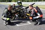 Na torze Yamaha R6 Supersport