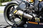 Prawa strona Yamaha R6 Supersport