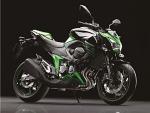 Kawasaki Z800 2013 prawa strona