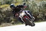 Zakrety Honda CB650F 2014