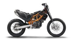 rozebrany KTM 690 Enduro R