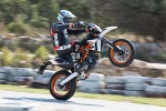 KTM SMC R na kole