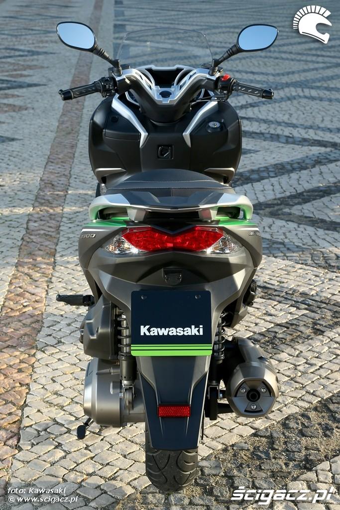 Kawasaki J300 2014 od tylu