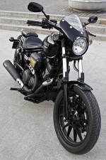 Black Yamaha XV950 Bolt 2014