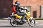Honda CB125F jazda