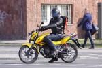 Honda CB125F na miescie