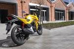 Nowa Honda CB125F 2015 na miescie