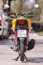 Nowa Honda CB125F 2015 tyl