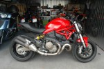 Ducati Monster 821 w garazu