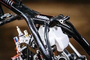 KTM EXC na wtrysku rama