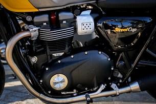 Silnik Triumph Street Cup