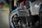 Triumph Bonneville T100 cylinder