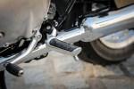 Triumph Bonneville T100 dzwignia zmiany biegow