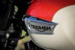 Triumph Bonneville T100 emblemat na zbiorniku