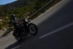 Triumph Bonneville T100 jazda