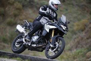 BMW F850GS Exclusive road1