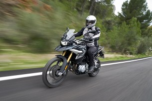 BMW F850GS Exclusive road move