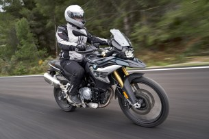 BMW F850GS Exclusive road move2