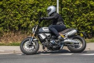 Ducati Scrambler 1100 Special test motocykla 2018 akcja