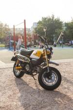 Honda Monkey 125 test 06
