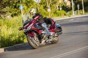 Honda GL1800 GOLD WING 2018 akcja