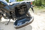Suzuki VStrom 650 XT otwarty kufer