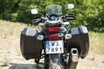 Suzuki VStrom 650 XT tylem