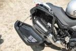 Suzuki VStrom 650 XT w kufrze