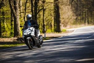 BMW C400 GT na drodze
