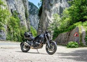 Benelli Leoncino Trail Kanion Bicaz Rumunia