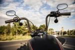 Harley Davidson Street Bob 2018 test lusterka