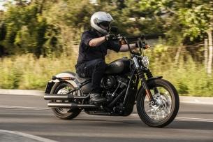 Harley Davidson Street Bob 2018 test