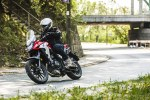 Honda CB500X test motocykla 2019 akcja