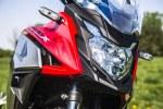 Honda CB500X test motocykla 2019 lampa