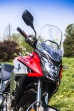 Honda CB500X test motocykla 2019 owiewka