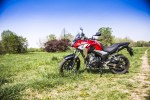Honda CB500X test motocykla 2019 postoj