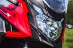 Honda CB500X test motocykla 2019 reflektor