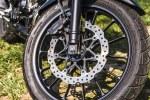 Honda CB500X test motocykla 2019 tarcza
