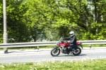 Honda CB500X test motocykla 2019 w trasie