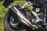 Honda CB500X test motocykla 2019 wydech