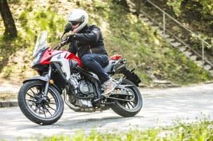 Honda CB500X test motocykla 2019 64