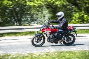 Honda CB500X test motocykla 2019 dynamika