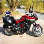 MV Agusta Turismo Veloce 800 Lusso Beni test motocykla 13